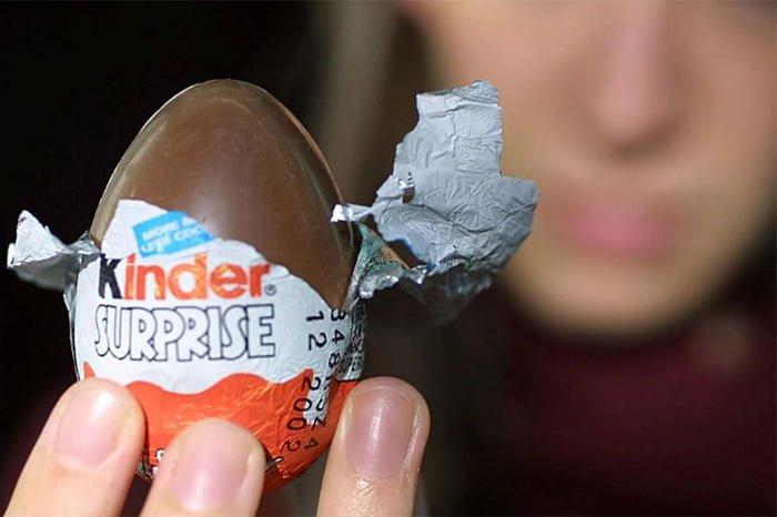 вред шоколада киндер сюрприз