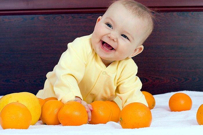 аллергия у грудничка на мандарин