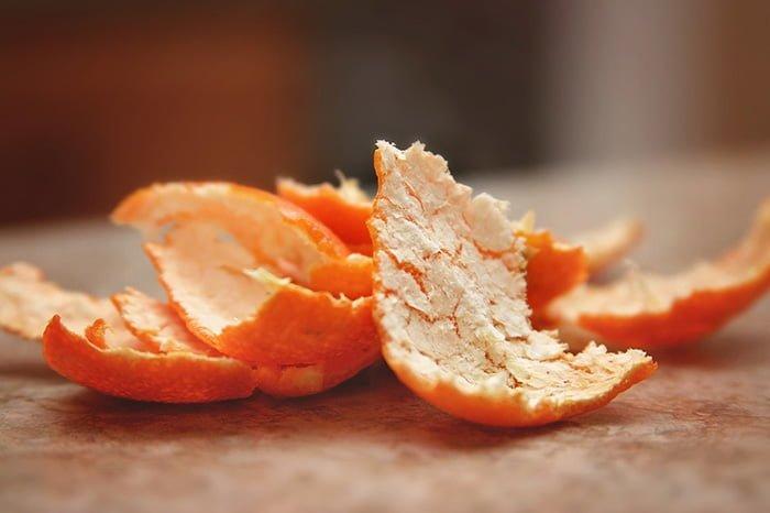 мандариновая кожура