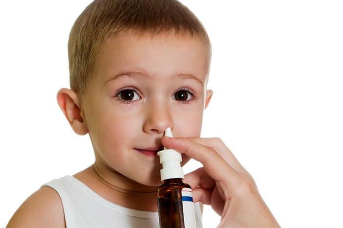спрей в нос ребенку