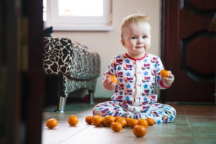 мандарины в прикорм ребенку