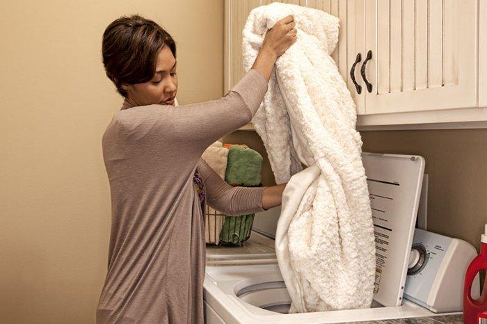 уход за шерстяным одеялом