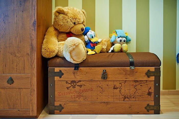 место для хранения детских игрушек