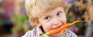 Сырая морковь ребенку