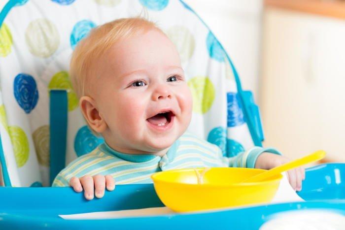 Питание ребенка в 8 месяцев