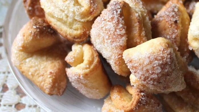 Творожное печенье детям