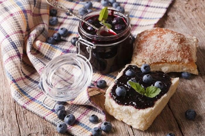 Рецепты блюд из черники для детей
