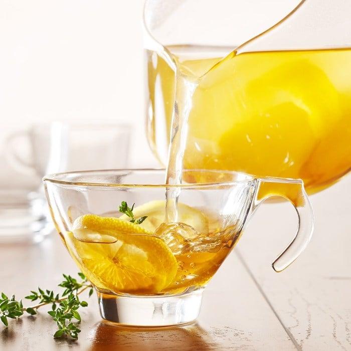 Чай с лимоном детям