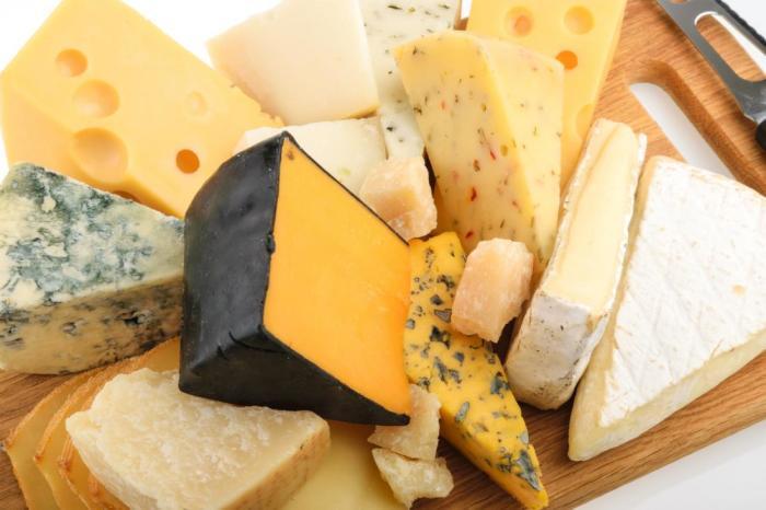 Сорта сыра для детей