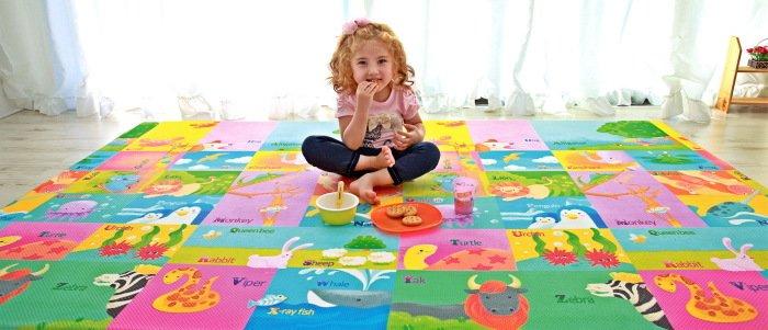 Как выбрать детский игровой коврик