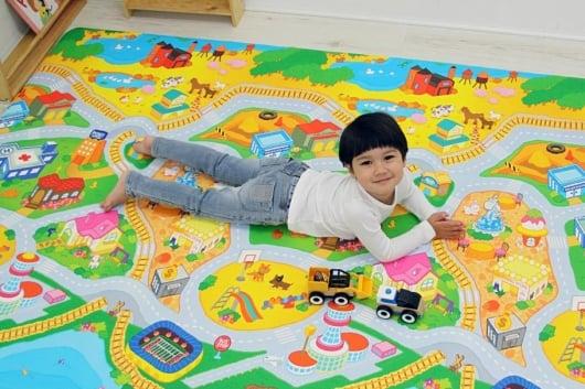 Детские игровые ковры когда нужно