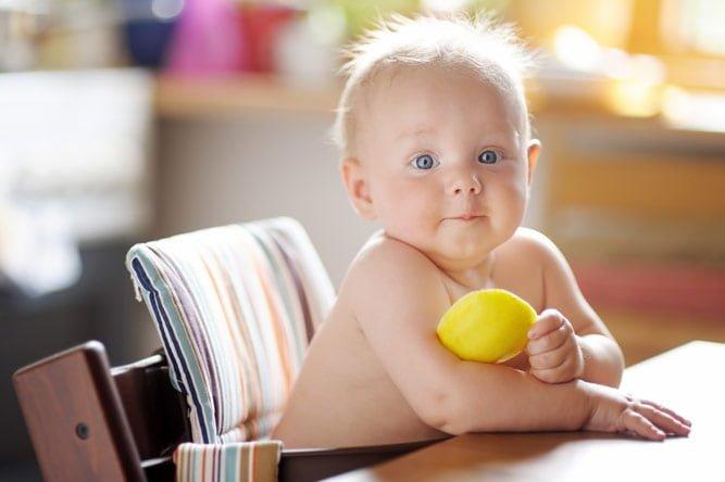 Польза лимона детям