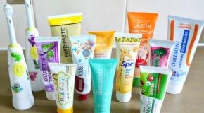 Рейтинг лучших зубных детских паст