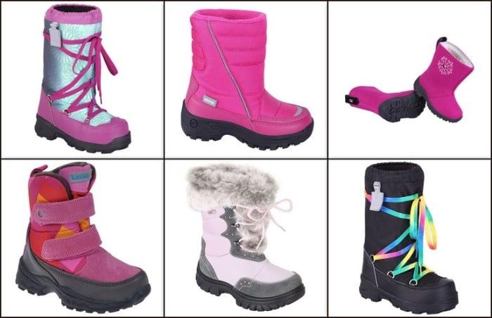 Лучшая зимняя обувь для детей
