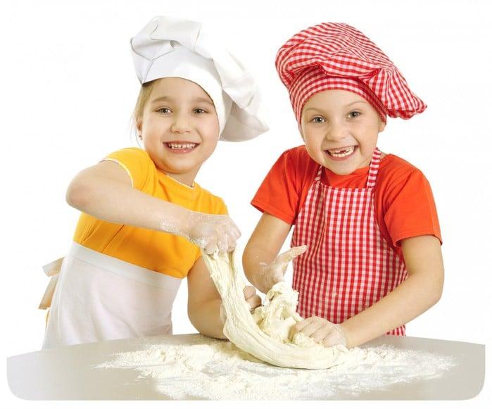 Как приготовить пиццу ребенку
