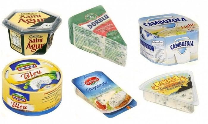 Сыр с плесенью кормящей маме
