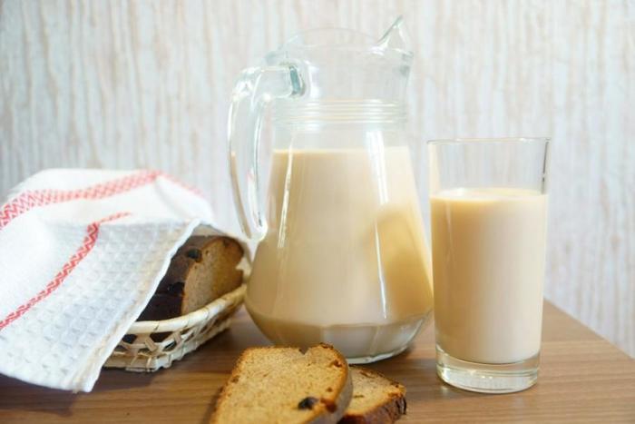 Молоко топленое при ГВ