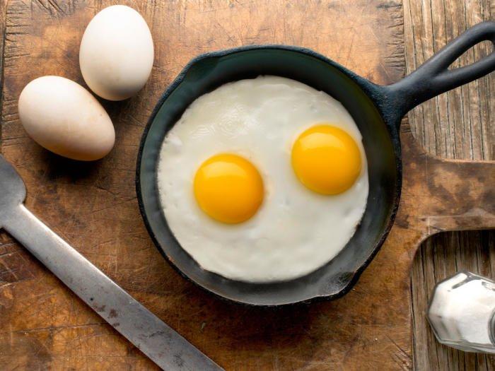 Как готовить яйца детям