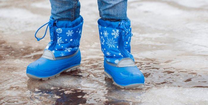 Как подобрать размер зимних ботинок для ребенка