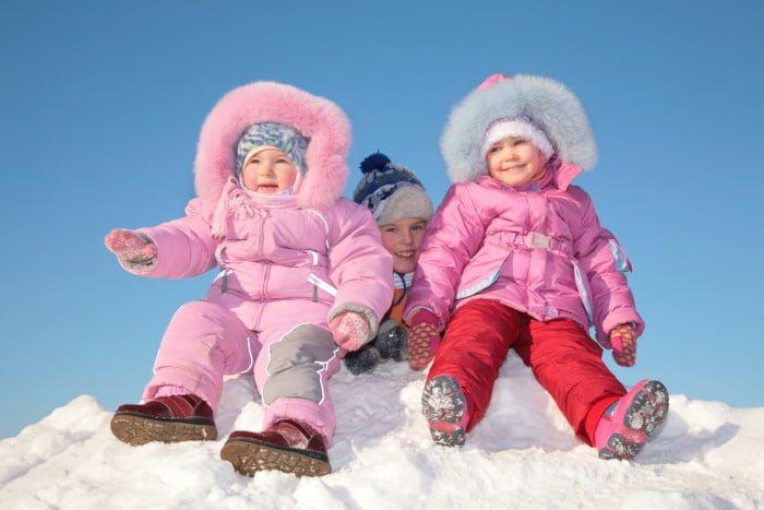 Виды зимней обуви для детей