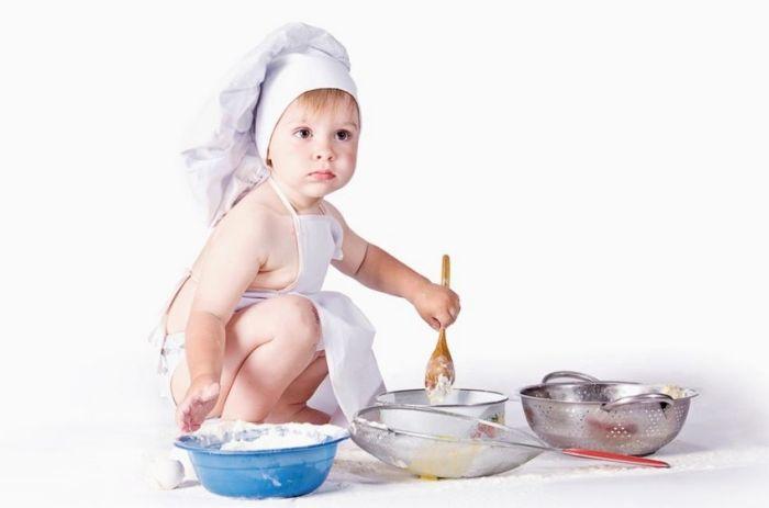 Как приготовить кексы для ребенка