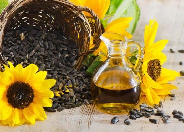 Подсолнечное масло для жарки: можно или нет