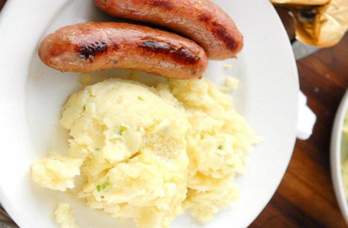 Рецепты с картофельным пюре для детей