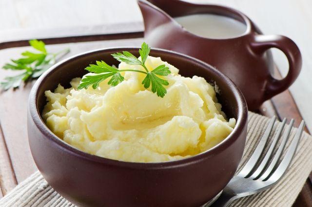 Рецепт картофельного пюре для самых маленьких