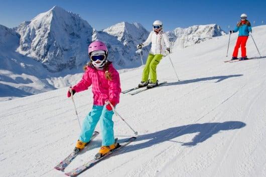 Как одевать ребенка для лыж