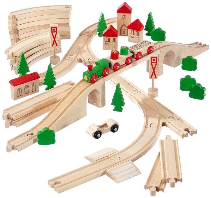 Детская деревянная дорога