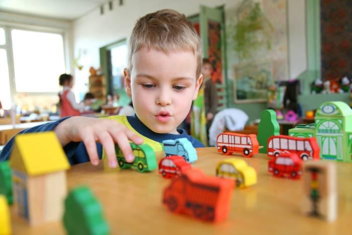 В каком возрасте идти в детский сад