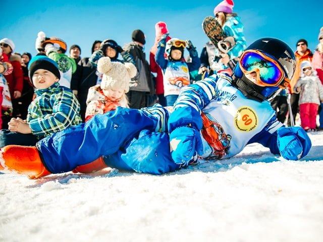 Обучение сноубордингу детей
