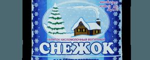 Кисломолочный продукт снежок