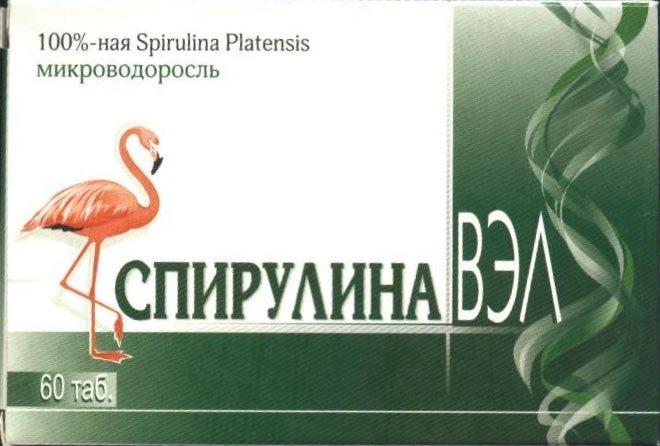 Спирулина Вэл