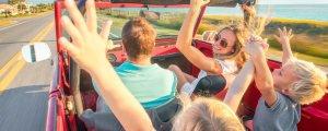 Путешествие с детьми на машине