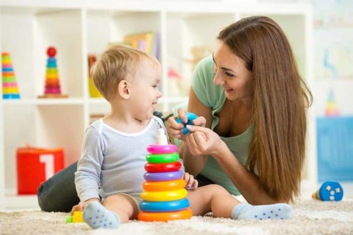 Совместные игры с ребенком