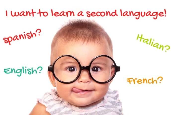 Изучение иностранного языка ребенку