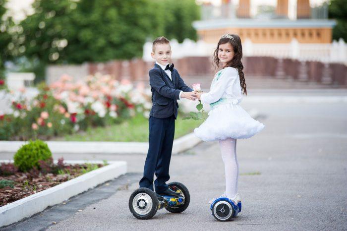 Польза гироскутера для детей