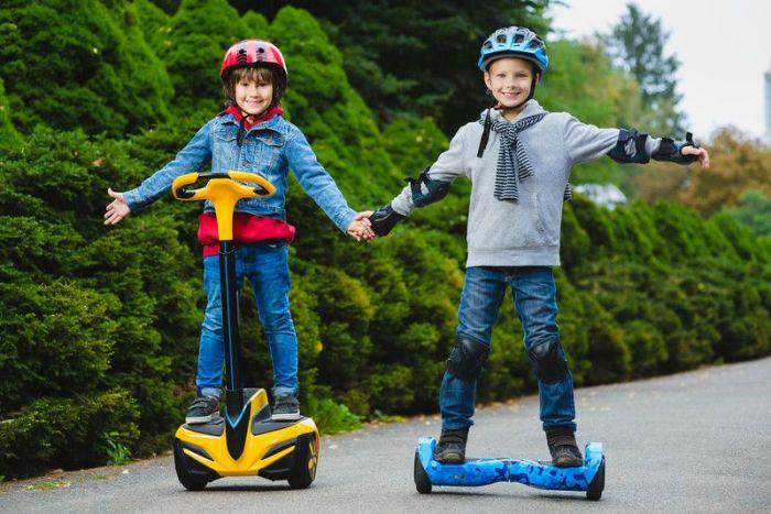 С какого возраста можно кататься на гироскутере