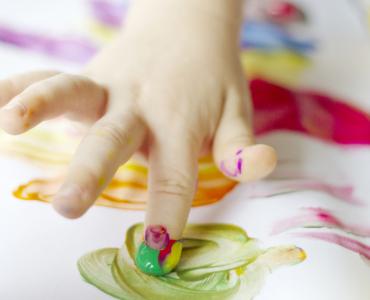 Рисование с ребенком дома