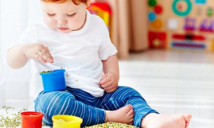 Игры с крупами для детей
