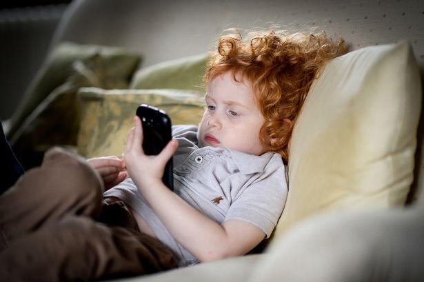 Влияние планшета на детей