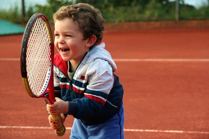 Большой теннис детям