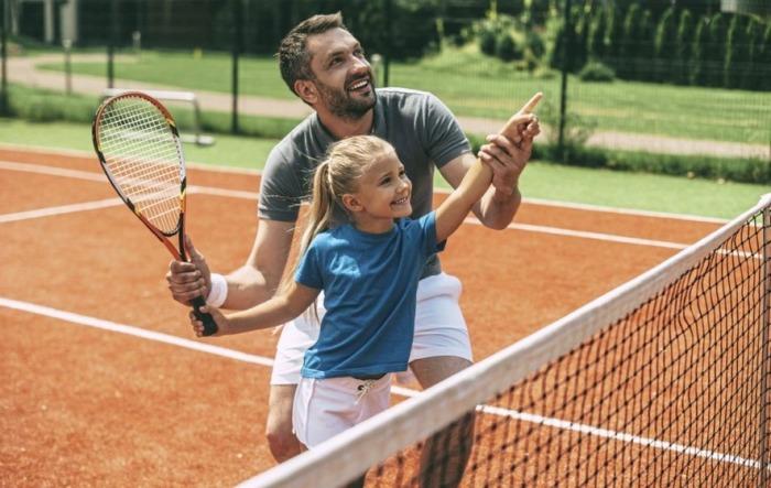 Польза большого тенниса для детей