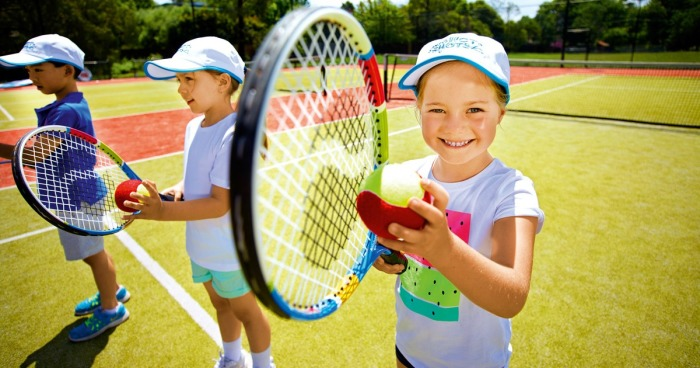 Что развивает большой теннис